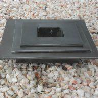 Plateau zinc en carré (2)